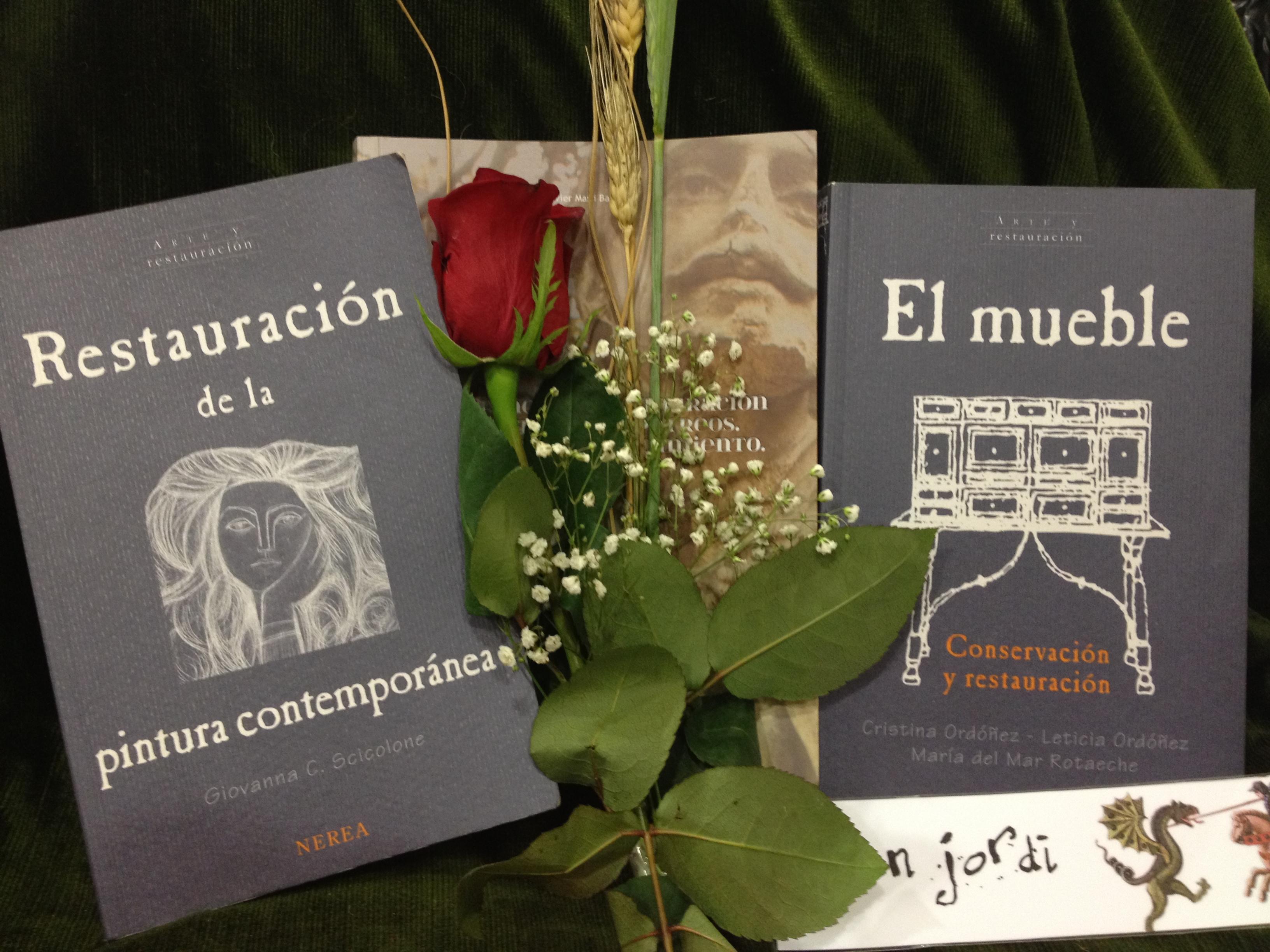 Si todavía estáis indecisos, desde ECORE os recomendamos una serie de libros de restauración para regalar este dia de Sant Jordi: SCICOLONE, G. Restauración de la Pintura Contemporánea.Donosti-Sant […]